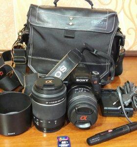 Зеркальный фотоаппарат Sony DSRL-A500
