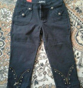 Новые джинсовые капри