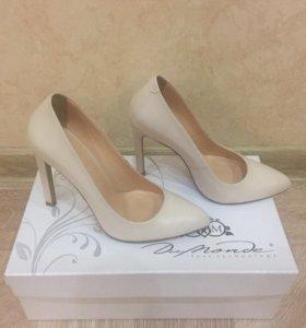 Туфли лодочки (молочный цвет/nude)
