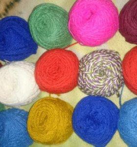 Пряжа для вязания Акрил