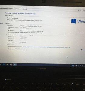 Ноутбук HP compaq pentium 4gb, 320gb, 2,2MHz *2/