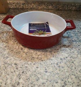 Керамическое блюдо для выпекания (новое)