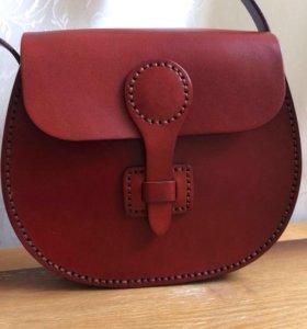 Женская кожаная супер сумка( испанка)