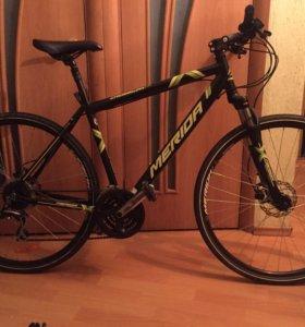 Merida crossway гибридный велосипед