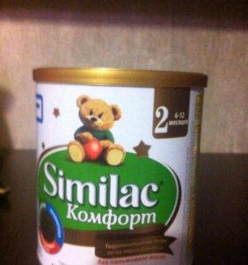 Молочная смесь similac комфорт 2
