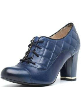 Новые туфли, натуральная кожа.