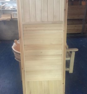 Двери деревянные утеплённые