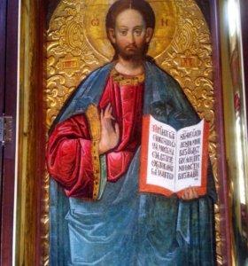 Икона Господь Вседержитель, старый Афон