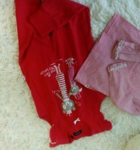 Комплект одежды. Кофта и комбинезон blue seven