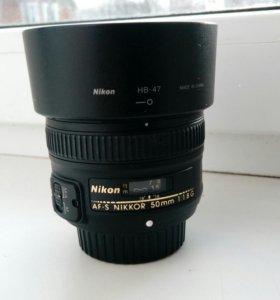 Nikkor AF-S 50mm 1.8 G