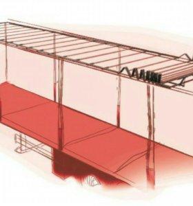 Тент, каркас и раздвижная крыша.