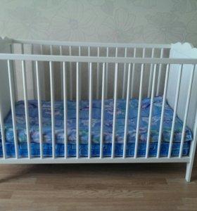 """Кроватка детская""""Икея""""."""