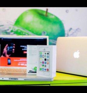 Замена дисплея, батареи iPhone 4, 4s, 5, 5c, 5s, 6