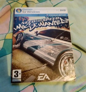 "Игра ""need for speed most wanted"" 2007 года"