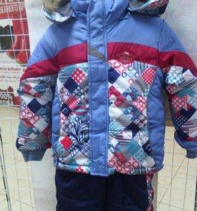 зимние костюмы новые,98-104см