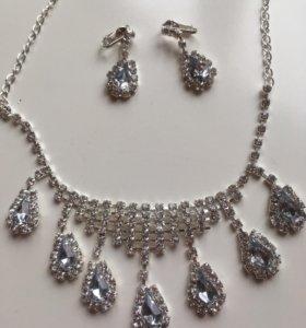 ожерелье ,подвеска ,серьги
