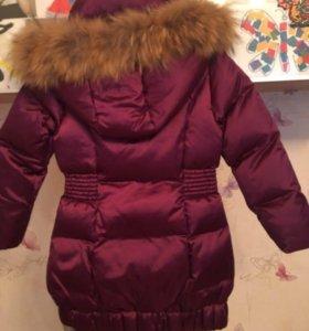 Продам новое пальто рост 116