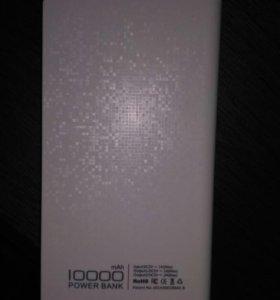 Power Bank DinTo 10 000 mAh внешний аккумулятор