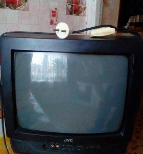 ТелевизорJVC с пультом