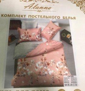 Постельное белье новое в упаковке