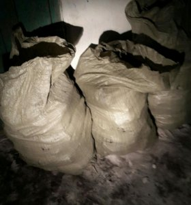 Продажа комкового угля (в мешках)