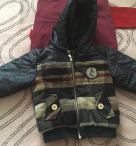 Куртка демисезонная,Комплект одежды для мальчика