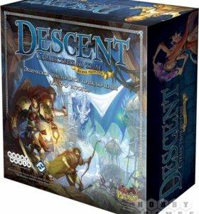 Настольная игра Descent 2ое издание