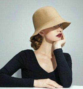 Новая песочная шляпа бохо и Шарф-палантин