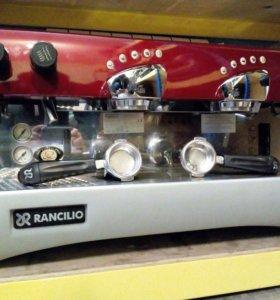 Профессиональная кофемашина rancilio epoca