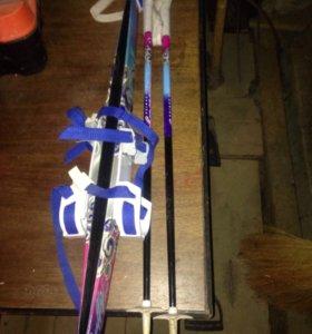 Лыжный комплект детский