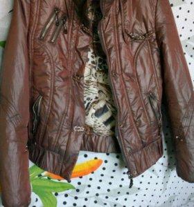 Куртка тепленькая