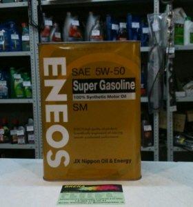 Масло моторное синтетика ENEOS 5W50 4L