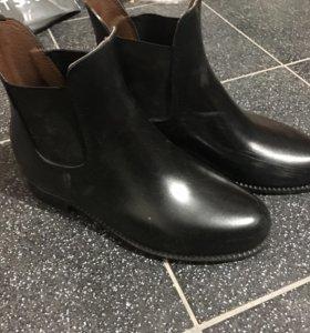 Ботинки резиновые для верховой езды