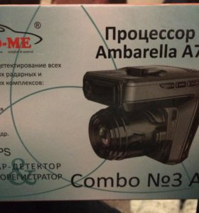 Радар-детектор видеоригестратор Combo A7