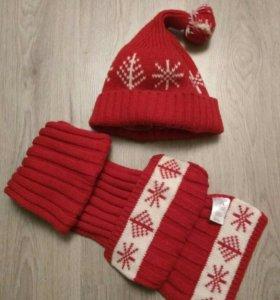 Шапка + шарф Adidas