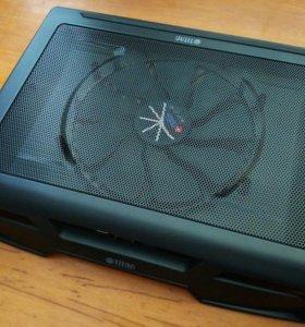 Охлаждающая подставка для ноутбука TITAN G25T/B2