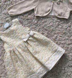 Платье и болеро mothercare
