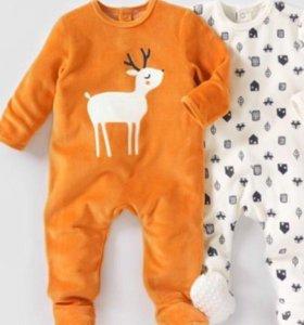 Пижама для новорождённых