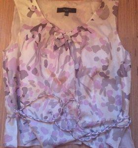 Блузка шелковая unjour ailleurs