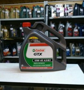 Масло моторное CASTROL GTX 10W40 4L