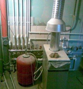 Монтаж отопления.