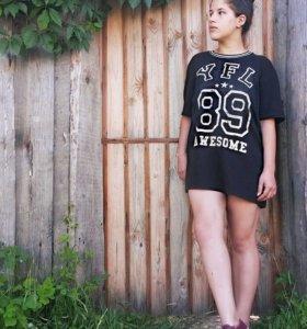 футболка, туника, платье спортивное