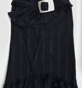Черная длинная юбка (Франция)