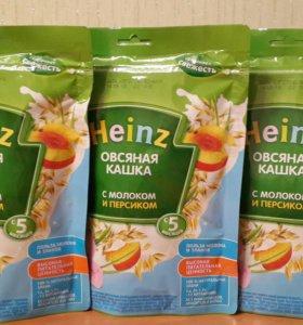 Каша Heinz овсяная с молоком и персиком