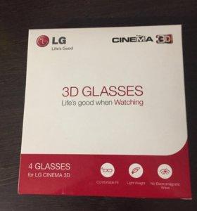 3D очки LG 4 шт.