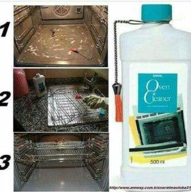 Для чистки духовок и сковородок