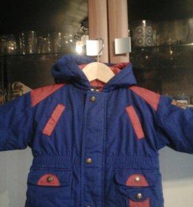 Курточка на маленького человечка