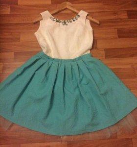 Платье мятное 👗
