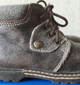 Ботинки сапоги демисезонные Антилопа