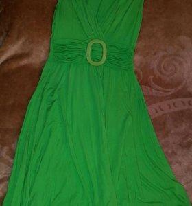 Платье зел.
